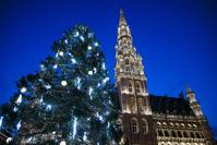 ベルギー ブリュッセル クリスマスツリー