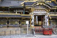 栃木県 日光東照宮 修復完成後の唐門