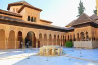 グラナダ アルハンブラ宮殿 ナスル宮殿