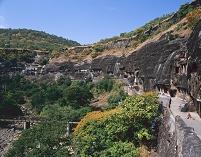 インド アジャンタ石窟群