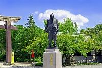 大阪府 豊国神社 豊臣秀吉公像