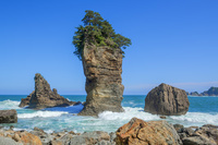 岩手県 山王岩