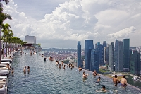 シンガポール ホテル・マリーナ・ベイサンズ