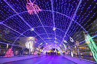 東京都 多摩センターのクリスマスイルミネーション