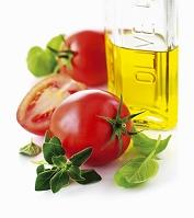 トマトとハーブとオリーブオイル