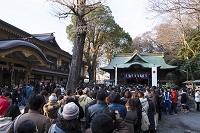 東京都 谷保天満宮の初詣