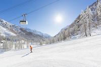 イタリア モンテ・ロサ スキー場
