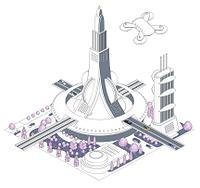ブロックタウン未来都市 B-2