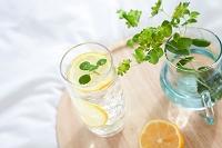 炭酸水と花瓶