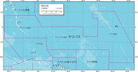 キリバス 地勢図