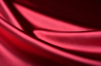 赤いドレープ