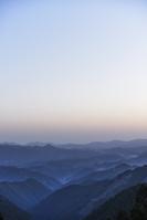奈良県 吉野山 山並み