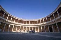 アルハンブラ宮殿、カルロス5世宮殿