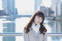 冬の日本人女性
