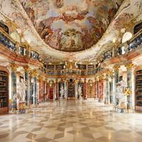 ドイツ ウルム ヴィブリンゲン修道院図書館