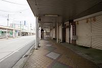 秋田県 閉店の商店街