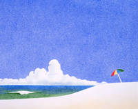 ビーチパラソル