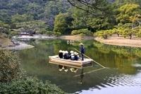 香川県 高松 栗林公園庭園の風景