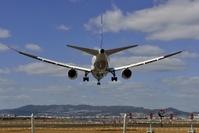 伊丹空港に着陸