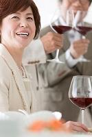 ワインと中高年女性