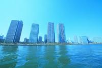 東京都 越中島公園より 晴海運河
