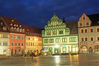 ドイツ ワイマール 市場広場