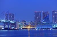 東京都 有明からレインボーブリッジ 未明