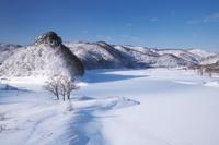 岩手県 錦秋湖の冬