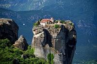ギリシャ メテオラ アギア・トリアダ修道院