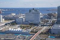 東京都 江東区 国際展示場駅前と有明の街並み