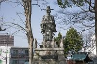 滋賀県 豊臣秀吉像 長浜城跡