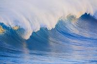 高知県 台風通過後の高波の土佐湾