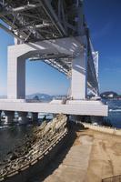 兵庫県 鳴門岬より大鳴門橋と鳴門海峡