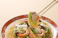 皿うどん(かた麺)