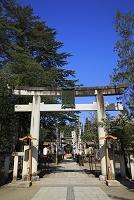 山形県 松が岬公園(米沢城址) 上杉神社