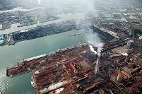 福岡県 北九州工業地帯(新日鉄八幡製鐵所周辺)
