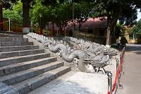 ベトナム タンロン遺跡 ドラゴンステップ