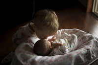 赤ちゃんと子供
