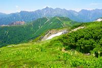岐阜県 丸山から槍ケ岳