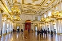 ロシア サンクトペテルブルク エルミタージュ美術館 大玉座の間