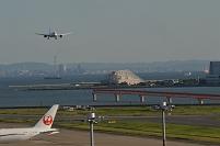 東京都 羽田空港 ANA着陸