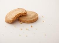 食べかけのクッキー