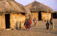 タンザニア マサイ村