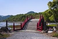 青森県 恐山 三途の川 橋