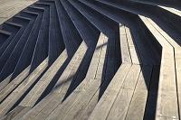 神奈川県 横浜市 大桟橋の階段