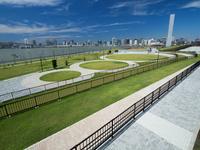 東京都 豊洲ぐるり公園(開業直前)