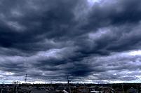 乱層雲(雨雲)