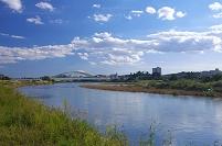 東京都 多摩川の展望