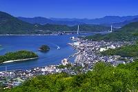 広島県 因島公園より瀬戸内海
