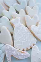 アイシングクッキーのウェディングイメージ